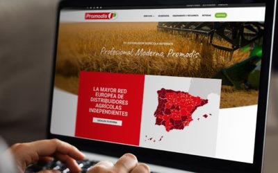 Nueva Web Promodis