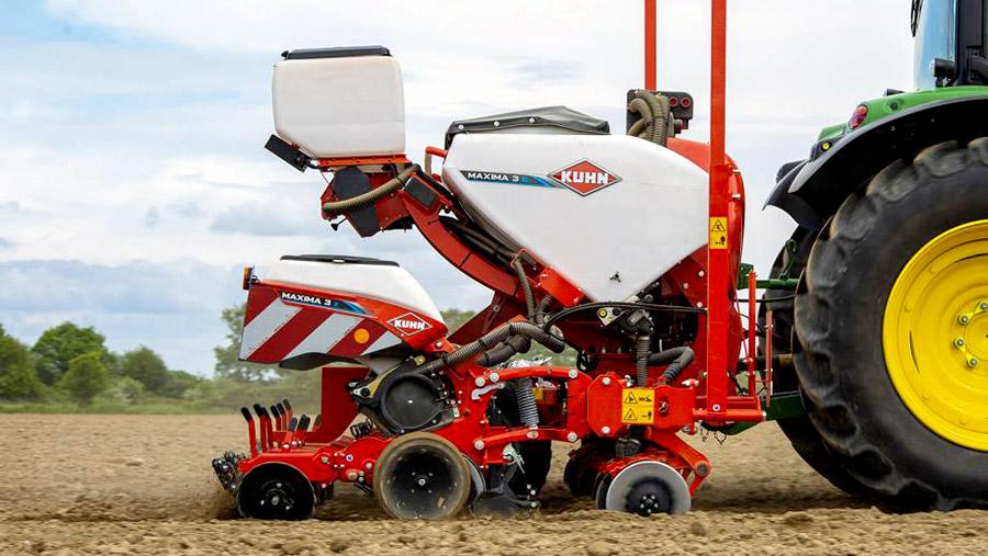 Kuhn Maxima 3, la sembradora monograno