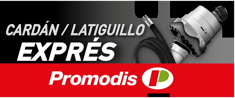 Promodis · Servicio Cardán/Latiguillo Exprés